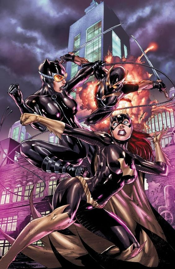Batgirl Annual cover - colors by ~Ed-Benes-Studio on deviantART