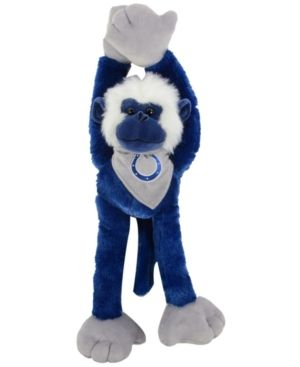 Forever Collectibles Indianapolis Colts Plush Slider Monkey - Blue