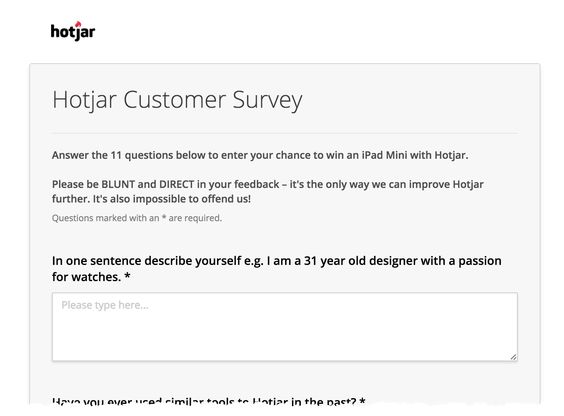 Example Customer Survey  pikeri    Questions To Ask