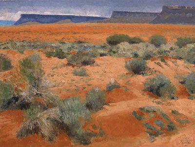 Coral Desert Floor, Gary Ernest Smith, 18 x 24