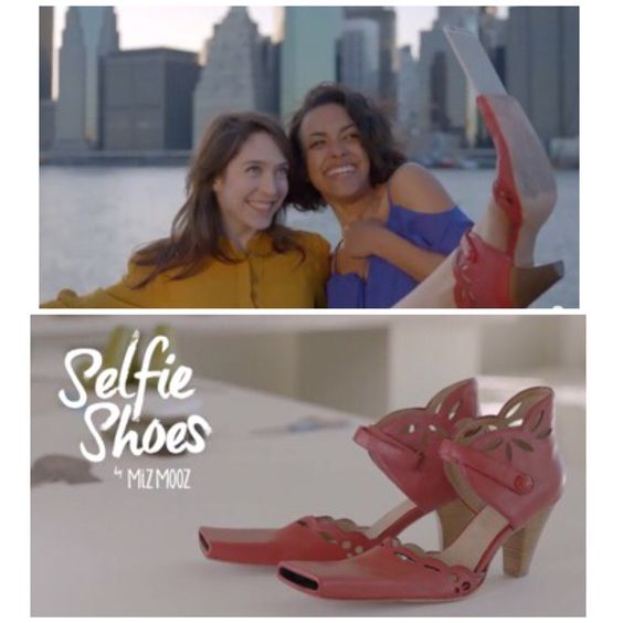 Love to take selfies anywhere and everywhere?  Then you'll get a kick out of these!  #shoefies #aprilfools