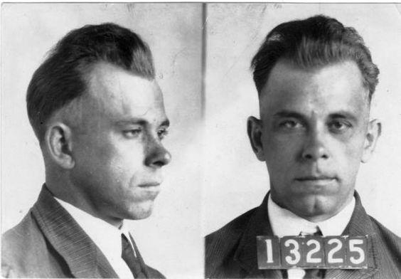 John Dillinger Mug Shot | John Dillinger's mug shots. On Dec. 12, 2009, Heritage Auctions held ...