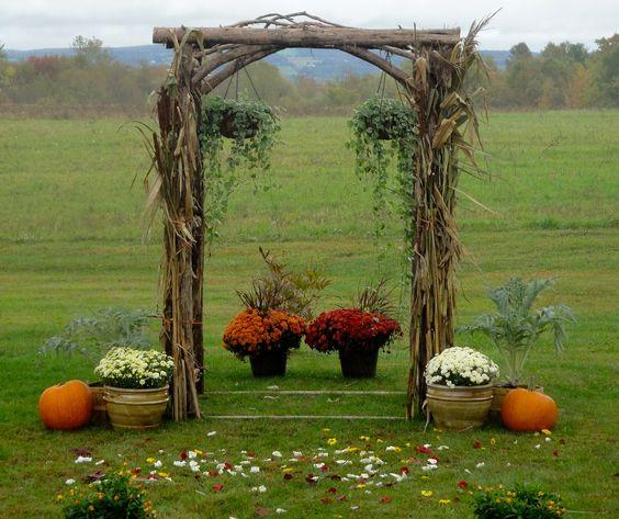 Rustic Wedding Arbors: Pinterest • The World's Catalog Of Ideas