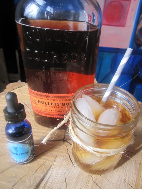 Signature Wedding Drink for the Guys! Salted Honey Bourbon