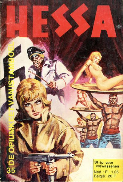 Cover for Hessa (De Vrijbuiter; De Schorpioen, 1971 series) #35