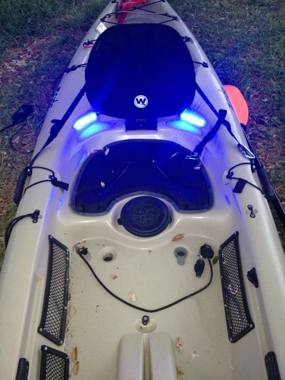 Fishing lights fishing and cabin on pinterest for Kayak lights for night fishing