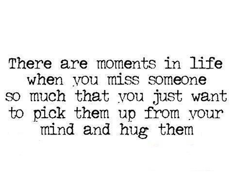 Every.single.day.  Miss you Mom, Grandma, & Grandpa.  What I wouldn't give for one more hug.