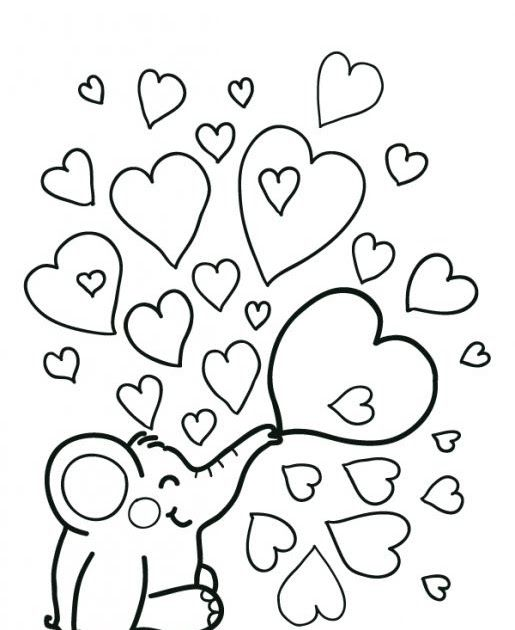 Free Easy Coloring Pages For Adults At Getdrawings Free Download Coloring Page Cute In 2020 Heart Coloring Pages Valentines Day Coloring Page Valentines Day Coloring