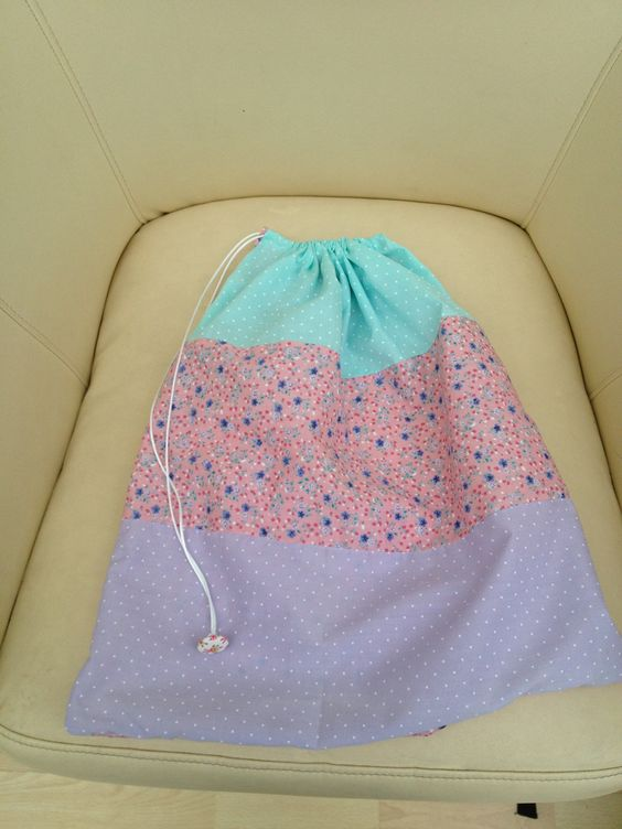 Homemade drawstring bag | My Craft projects | Pinterest ...