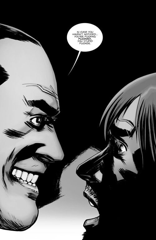 the walking dead negan kills daryl - Google Search | Indie Comics | Pinterest | Posts, Eyes and ...