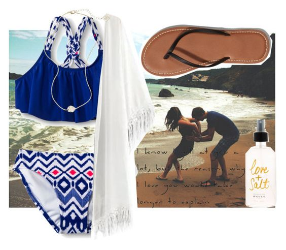 """""""Fugitive beach tomorrow"""" by reaw ❤ liked on Polyvore"""