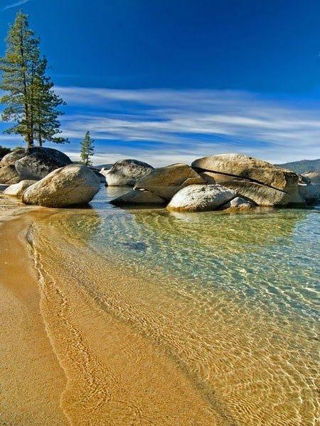Beaches around the World !!! - Lake Tahoe.