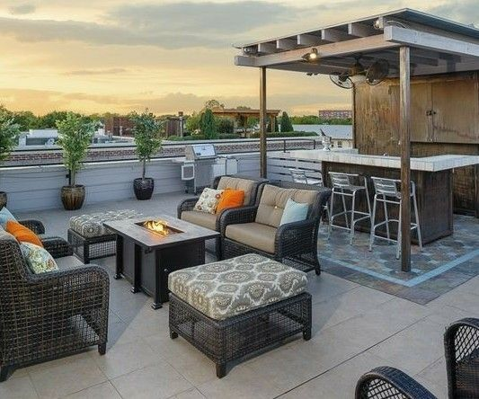 It S Always The Right Time To Head Out On The Town And Find The Nearest Rooftop Bar Feel The Breeze And E Rooftop Terrace Design Rooftop Design Terrace Design