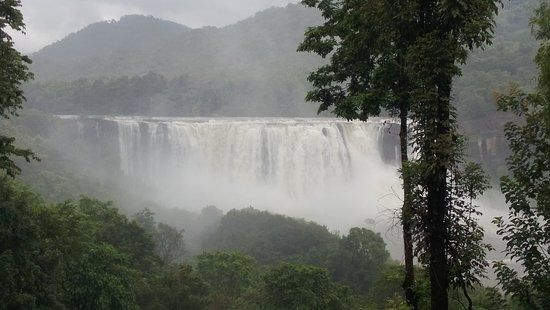 Athirapally  When you are the one looking for calmness and wilderness, this is the place to be. Known as the Niagra of India, Athirapally Falls is one of the most attractive places of the place and it is beyond comparison especially during monsoon.