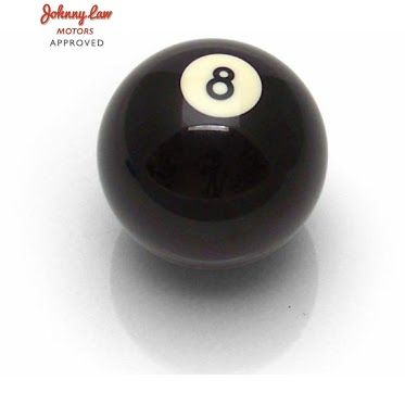 Johnny Law Motors - Google+Daily Special!   The Johnny Law Motors 8 Ball Shift Knob is only $7.99 today! That's a savings of $21.48!! Don't miss out on this classic! Head on over to the Johnny Law website to get this amazing deal!   http://www.johnnylawmotors.com/catalog/Apparel-and-Gifts/Gifts-$10-to-$25/Gifts-$10-to-$25/338876/8-Ball-Shift-Knob=5602