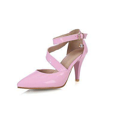 Dew Damenschuhe Lackleder Stöckelabsatz Spitzschuh Pumps / High Heels Kleid/Party & Festivität Schwarz/Grün/Rosa/Rot/Weiß - http://on-line-kaufen.de/dew-hohe-fersen/dew-damenschuhe-lackleder-stoeckelabsatz-pumps