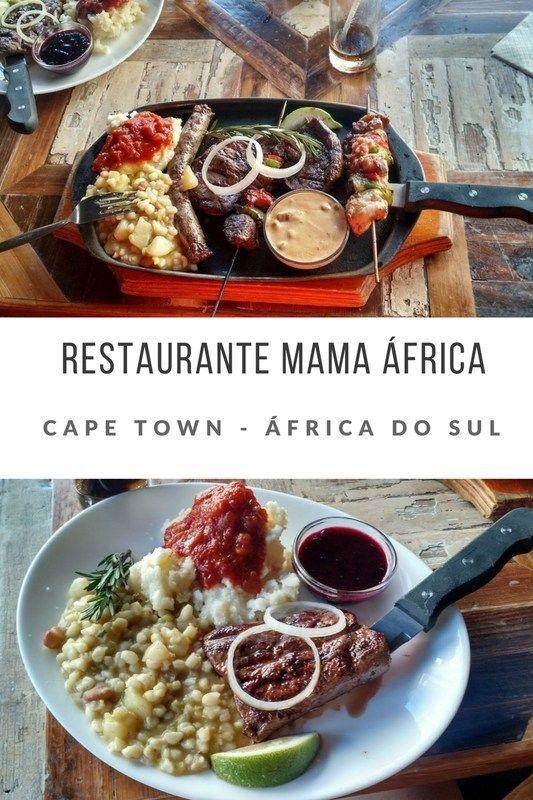 Onde Comer Em Cape Town Africa Do Sul Restaurante Mama Africa