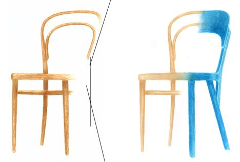 107 Chair by Robert Stadler for Thonet