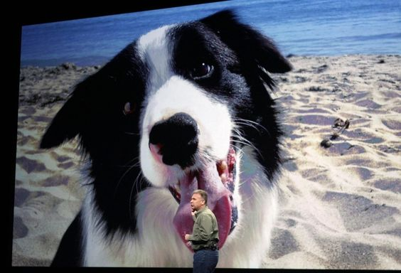 Hands-down the best pic from Apple's iPad event
