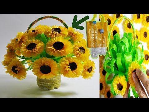 Kerajinan Tangan Dari Botol Bekas Membuat Pot Bunga Ide Kreatif