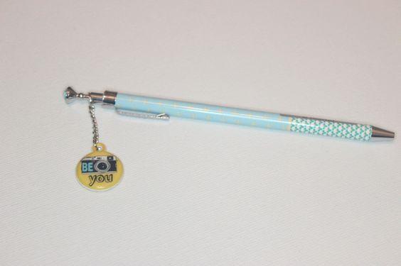 Stift / Kugelschreiber Be you von Perlenblitz auf DaWanda.com