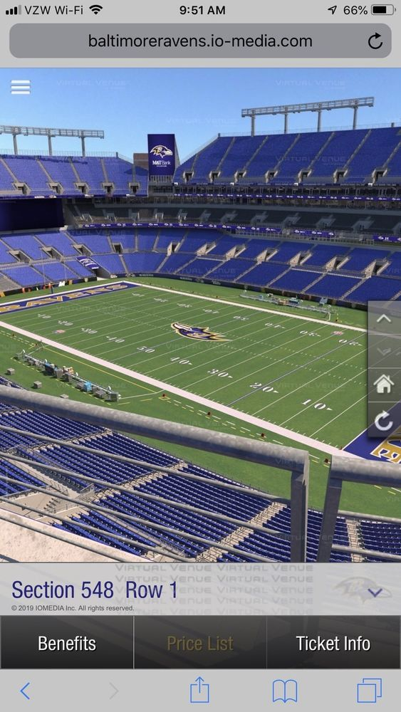 4 Baltimore Ravens Vs Los Angeles Chargers Playoff Tickets 1 6 2019 M 600 00 End Date Saturday Jan 5 2019 Los Angeles Chargers Baltimore Ravens Nfl Stadiums