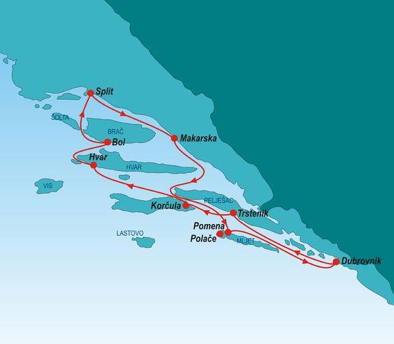 Croatia Deluxe Cruises 2015 - Croatia Cruises - Katarina Line