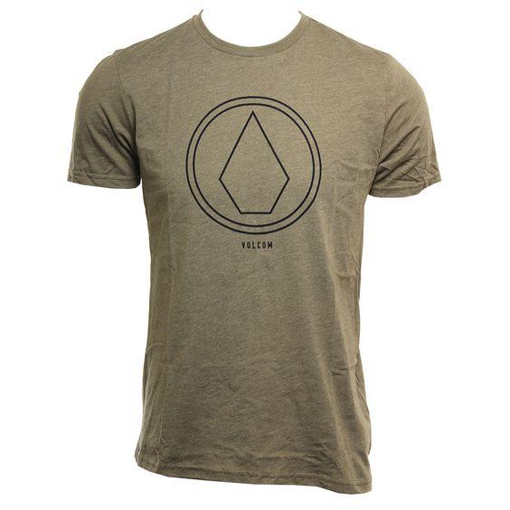 Volcom Mens Shirt Pin Line Stone