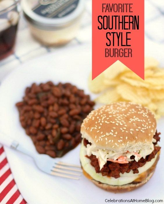 HOW TO SERVE A SOUTHERN STYLE BURGER  #BurgerNation #ad