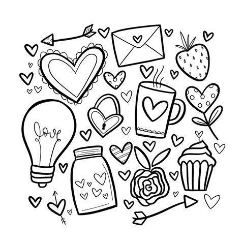 Love Doodles With Images Cute Doodle Art Bullet Journal