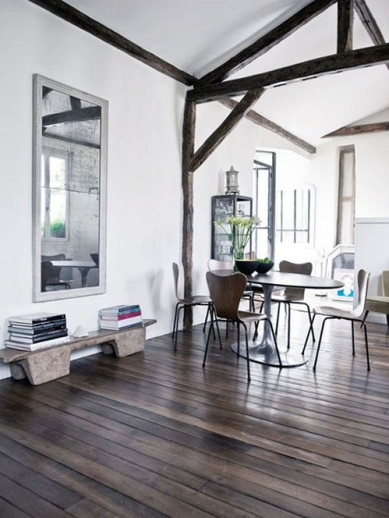tips voor een landelijk interieur moderne woonkamer met