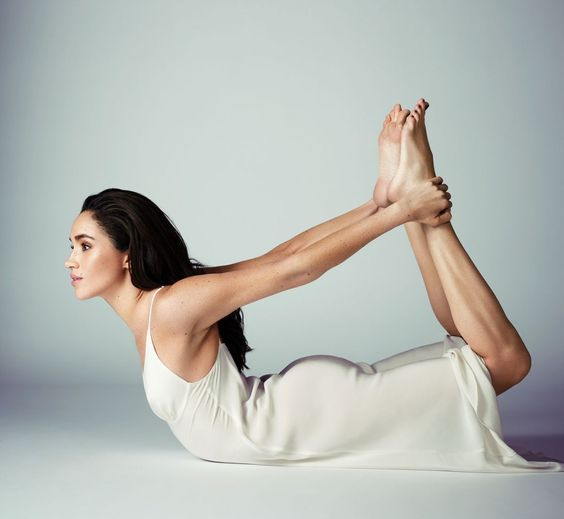 Bow Pose - Meghan Markle