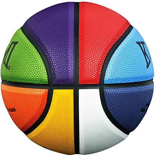 "22/"" Kuangmi Colorful Street Basketball for  Child Kids Boys Girls Size 3 balls"