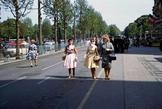 Love these! 1960's Paris <3