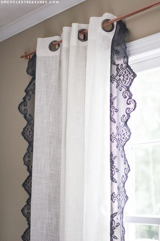 Crafts Using Lace Curtains