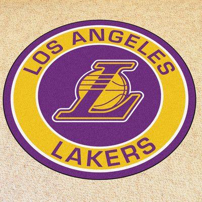 FANMATS NBA Los Angeles Lakers Roundel Mat