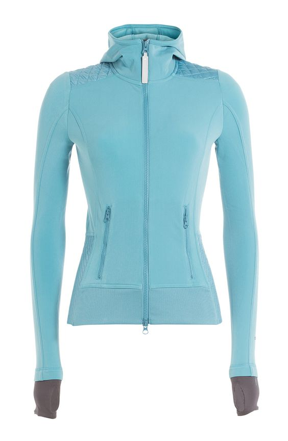 ADIDAS BY STELLA MCCARTNEY Zipped Jacket. #adidasbystellamccartney #cloth #hoodies