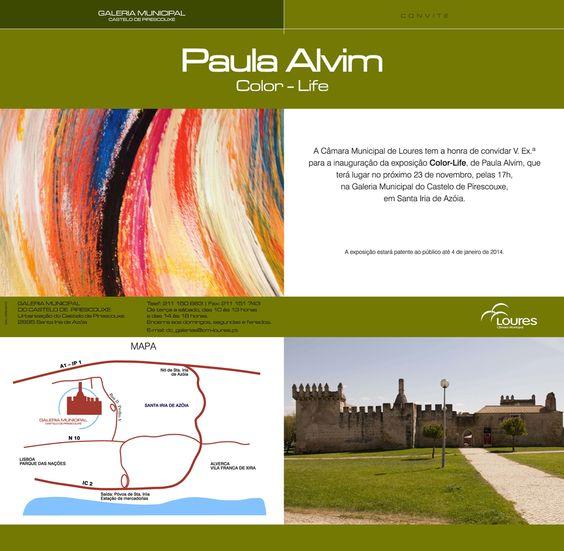 Exposição no Castelo de Pirescouxe