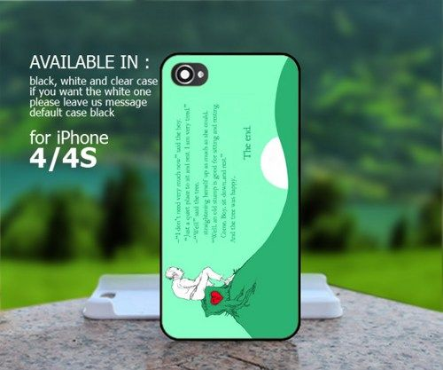 AJ 483 The Giving Tree - iPhone 4/4s Case | BestCover - Accessories on ArtFire