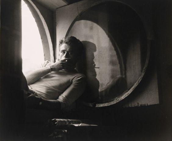 James Dean, 1954. Photograph: Roy Schatt