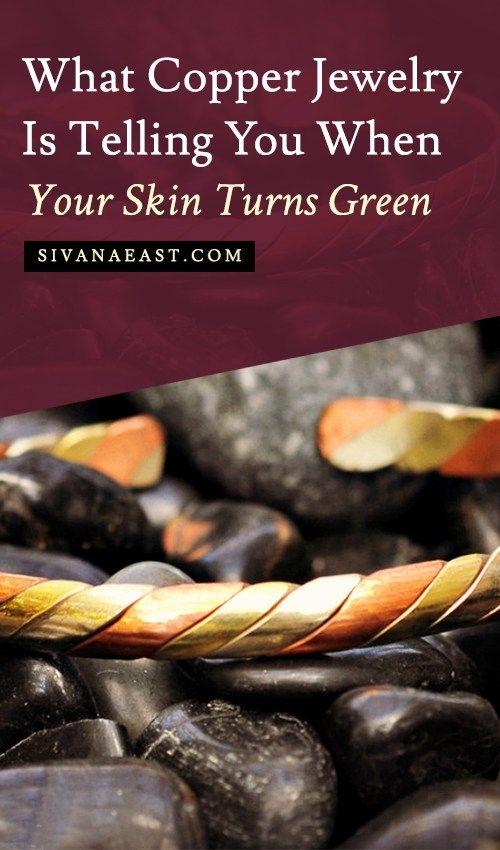 What Metal Turns Skin Green : metal, turns, green, Here's, Copper, Jewelry, Telling, Turns, Green, Jewelry,, Skin,