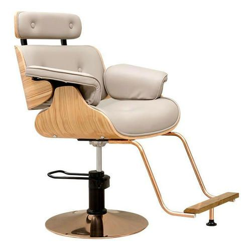 Lady Wooden Salon Hair Styling Chair Hydraulic Makeup Chairs Beauty Spa Equipment Hair Salon Furniture M Reclining Salon Chair Chair Style Salon Styling Chairs