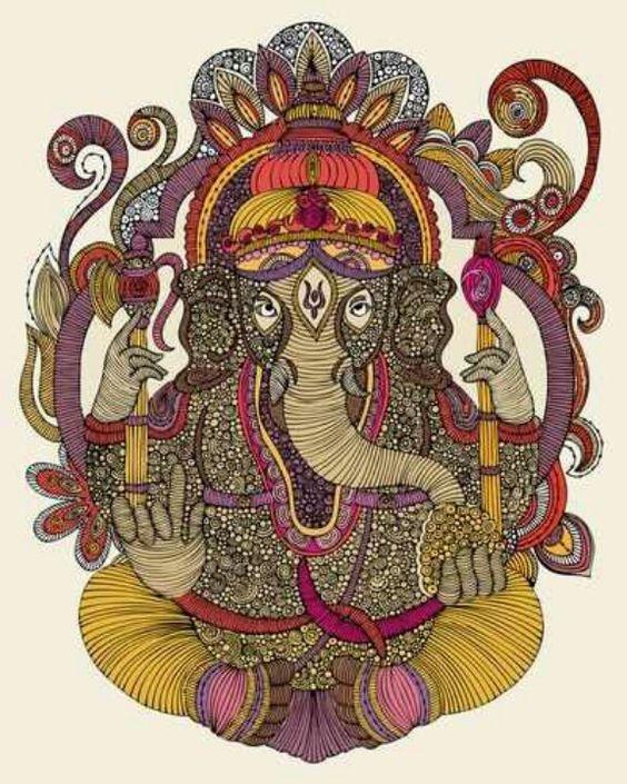 The Hindu God Ganesh'