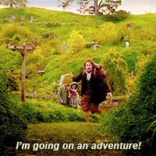 Bilbo Baggins Im Going on an Adventure The Hobbit: