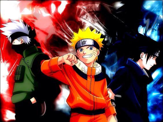 Anime~Naruto,Sasuke,Sensai Kakashi