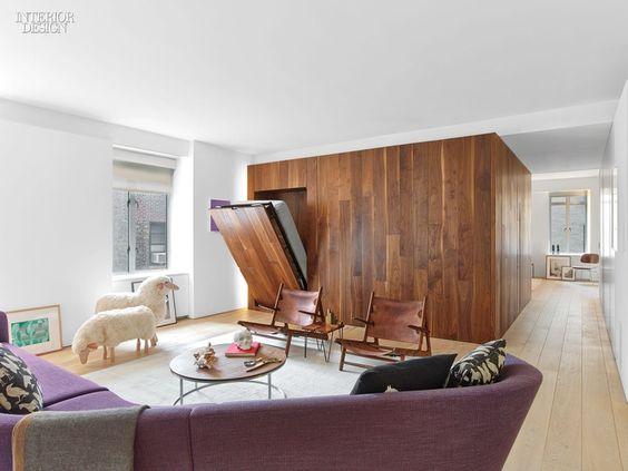 Organic Touches and Sleek Minimalism Find Harmony in an Upper West - design klassiker ferienwohnungen weimar
