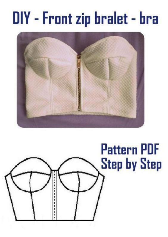 Bra Patterns Free Download : patterns, download, Pattern
