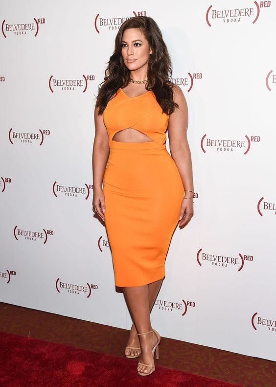 Ashley Graham in Dion Lee: