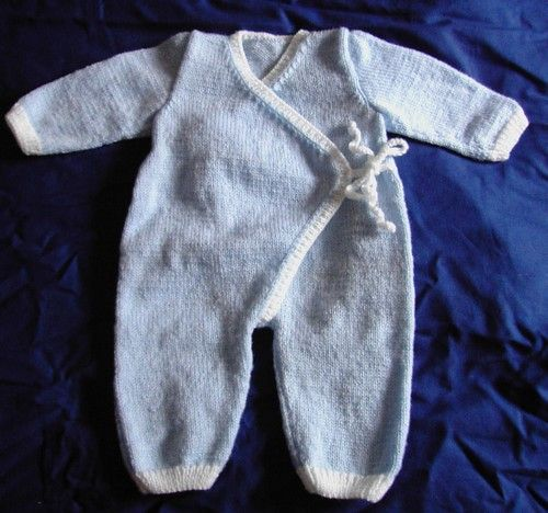 tuto gigoteuse naissance tricot layette. Black Bedroom Furniture Sets. Home Design Ideas
