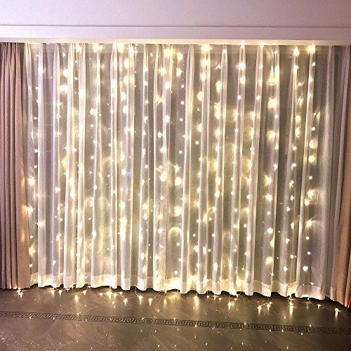 Fefelightup Window Curtain Lights 9 8 9 8ft 300 Leds Nigh Https
